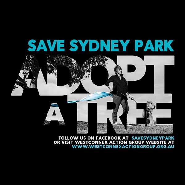 Save Sydney Park – Adopt a Tree